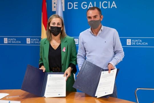 A Xunta destinará 1,15 millóns de euros en 2022 á ampliación da rede de saneamento de Padrón