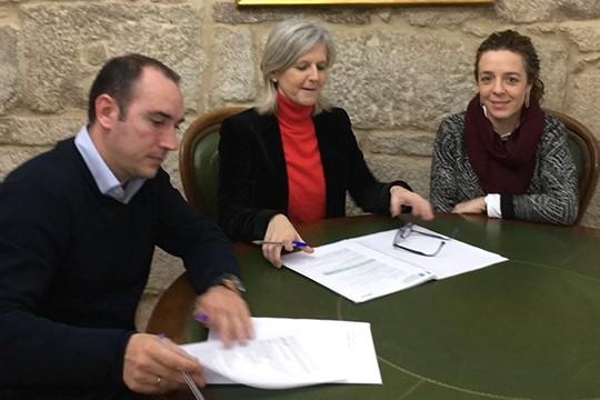 O alcalde de Padrón reúnese coa secretaria xeral de Emprego para coñecer de primeira man as axudas para a contratación de perceptores da Risga