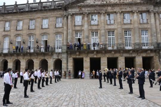 Padrón e Santiago renovan a súa irmandade nas Festas do Apóstolo e poñen en valor o crecemento do Camiño Portugués