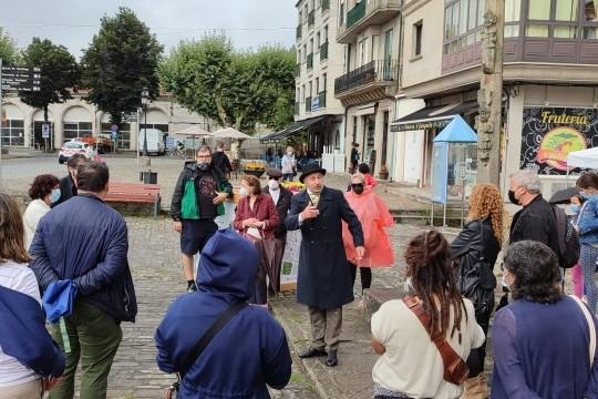 """Aforo completo nas visitas guiadas """"Camiño branco de Rosalía"""" dos Quinquilláns"""