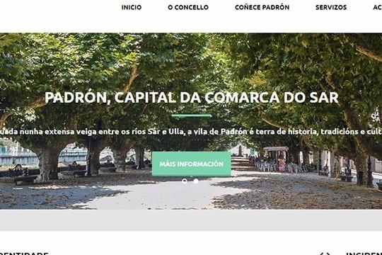 O Concello de Padrón renova a súa páxina web