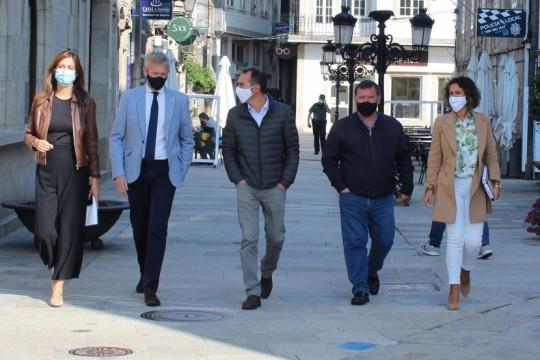O alcalde de Padrón e a Xunta de Galicia sentan as bases para desenvolver un proxecto relacionado co Camiño de Santiago