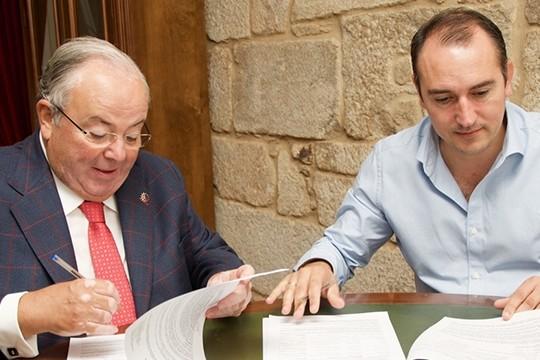 O Concello de Padrón renova a súa colaboración coas Aulas Senior de Galicia (Ategal)