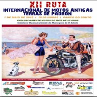 XII Ruta Internacional de Motos Antigas