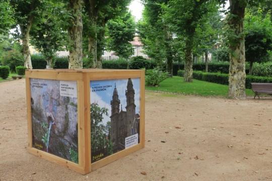 A concellaría de Turismo estrea unha nova exposición sobre a tradición Xacobea en Padrón